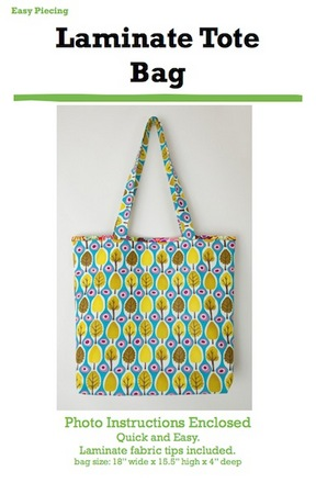 Laminate Tote Bag Pattern 