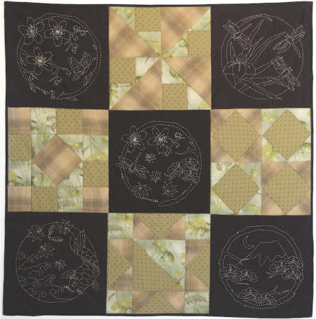 Four Seasons Quilt Kit- Brown