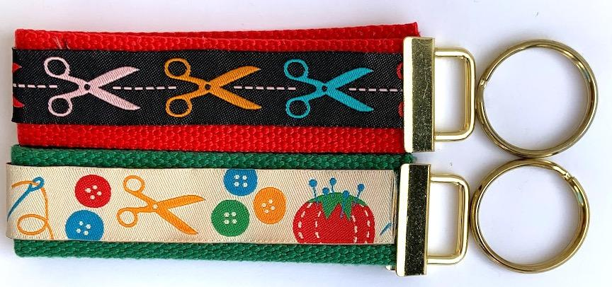 Key Fob Kit Set-Scissors- Sale $8.00- was $10